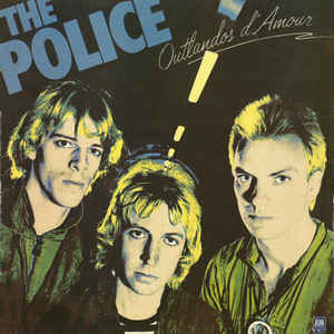The Police - Outlandos D'Amour - Album Cover