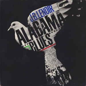 J.B. Lenoir - Alabama Blues - Album Cover