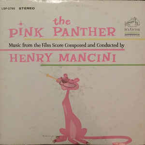 Henry Mancini - The Pink Panther (Music From The Film Score) - Album Cover