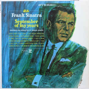 Frank Sinatra - September Of My Years - Album Cover