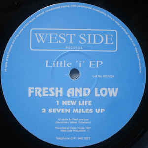 Fresh & Low - Little 'i' EP - Album Cover