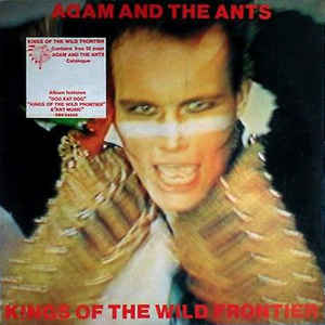 Adam And The Ants - Kings Of The Wild Frontier - Album Cover