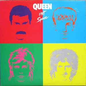 Queen - Hot Space - Album Cover