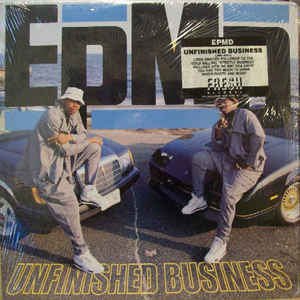 EPMD - Unfinished Business - Album Cover