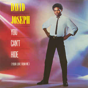 David Joseph - You Can't Hide (Your Love From Me) - Album Cover
