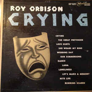 Roy Orbison - Crying - Album Cover