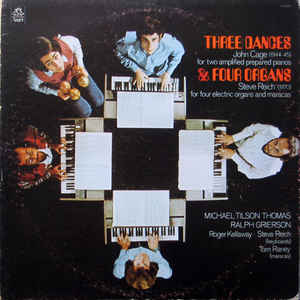 John Cage - Three Dances & Four Organs - VinylWorld