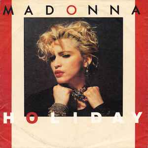 Madonna - Holiday - Album Cover