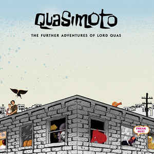 Quasimoto - The Further Adventures Of Lord Quas - Album Cover