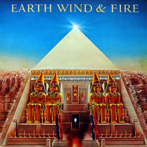 Earth, Wind & Fire - All 'N All - Album Cover