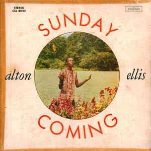 Alton Ellis - Sunday Coming - Album Cover