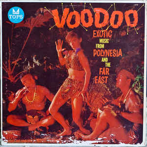 Robert Drasnin - Voodoo Exotic Music From Polynesia And The Far East - Album Cover