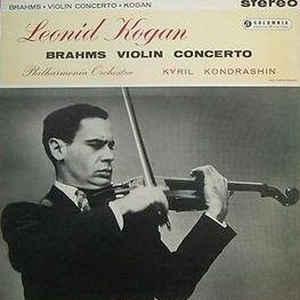 Leonid Kogan - Brahms Violin Concerto (Concerto In D Major, Op. 77) - Album Cover