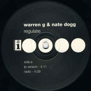 Regulate - Album Cover - VinylWorld