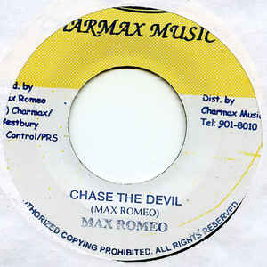 Max Romeo - Chase The Devil - Album Cover