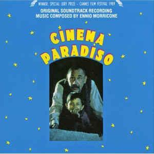 Ennio Morricone - Cinema Paradiso (Original Soundtrack Recording) - Album Cover