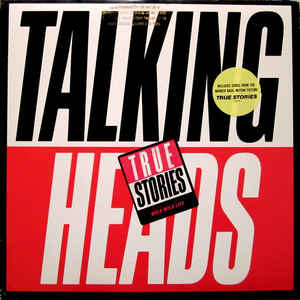 Talking Heads - True Stories - Album Cover