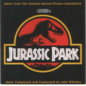 Jurassic Park - Music From The Original Motion Picture Soundtrack - Album Cover - VinylWorld