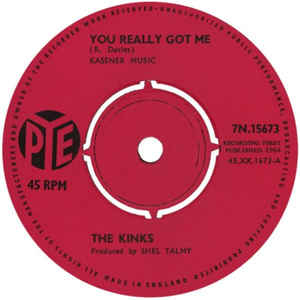 The Kinks - You Really Got Me - Album Cover