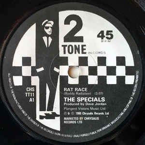 The Specials - Rat Race - Album Cover