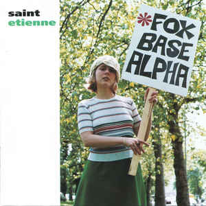 Saint Etienne - Foxbase Alpha - Album Cover