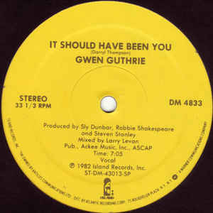 Gwen Guthrie - It Should Have Been You - VinylWorld