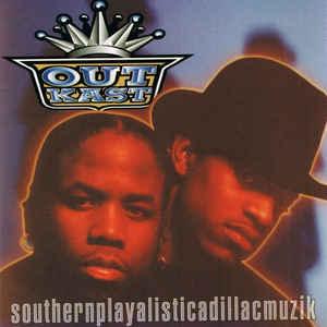 OutKast - Southernplayalisticadillacmuzik - Album Cover