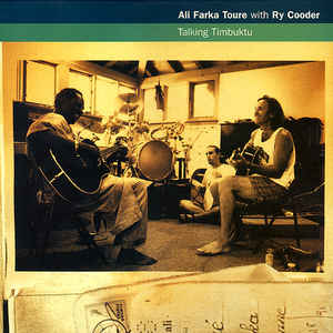 Ali Farka Touré - Talking Timbuktu - Album Cover