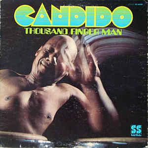 Candido - Thousand Finger Man - Album Cover