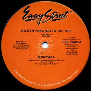 Monyaka - Go Deh Yaka (Go To The Top) - Album Cover