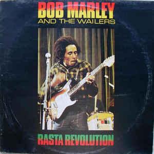Bob Marley & The Wailers - Rasta Revolution - Album Cover