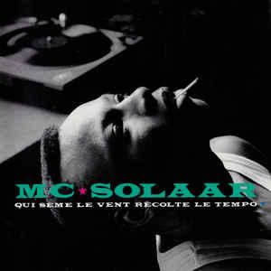MC Solaar - Qui Sème Le Vent Récolte Le Tempo - Album Cover