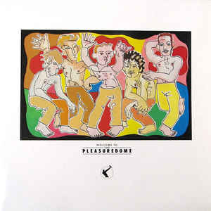 Frankie Goes To Hollywood - Welcome To The Pleasuredome - Album Cover