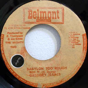 Gregory Isaacs - Babylon Too Rough / I Stand Accused - Album Cover