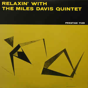 Relaxin' With The Miles Davis Quintet - Album Cover - VinylWorld