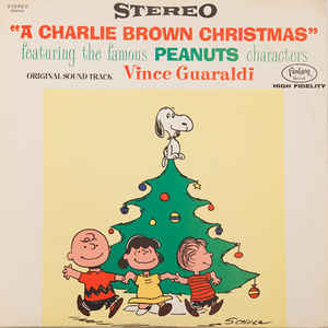 Vince Guaraldi - A Charlie Brown Christmas - Album Cover