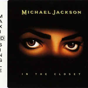 Michael Jackson - In The Closet - Album Cover