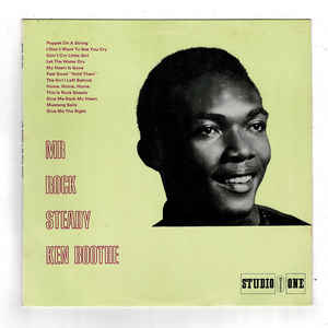 Ken Boothe - Mr Rock Steady - Album Cover