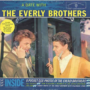 Everly Brothers - A Date With The Everly Brothers - Album Cover