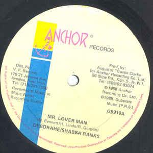 Mr. Lover Man - Album Cover - VinylWorld