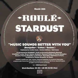 Stardust - Music Sounds Better With You - Album Cover