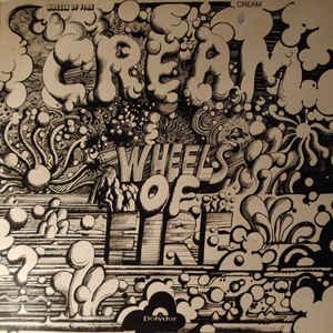 Cream (2) - Wheels Of Fire - In The Studio - Album Cover