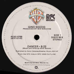 Gino Soccio - Dancer - Album Cover