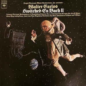 Walter Carlos - Switched-On Bach II - Album Cover