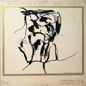 Morton Feldman - New Directions In Music 2 - Album Cover