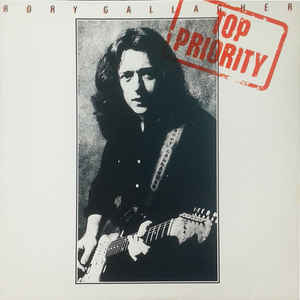 Rory Gallagher - Top Priority - Album Cover