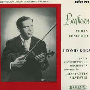 Ludwig van Beethoven - Beethoven Violin Concerto - Album Cover