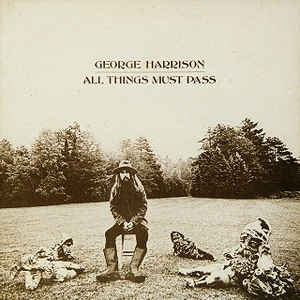 George Harrison - All Things Must Pass - Album Cover
