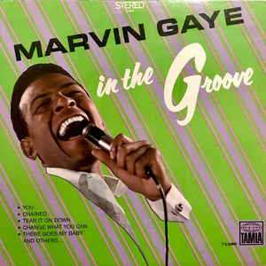 Marvin Gaye - In The Groove - Album Cover