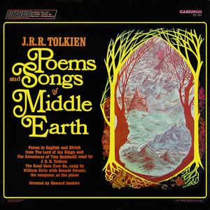 Poems And Songs Of Middle Earth - Album Cover - VinylWorld